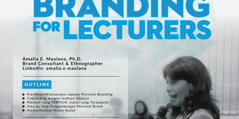 Personal Branding for Lecturers