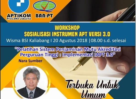 Workshop Sosialisasi Instrumen APT